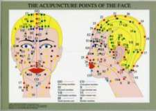 Acupuncture Points of the Face -- A4