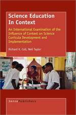 Science Education in Context