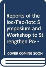 Reports of the IOC/FAO/IOTC symposium and workshop to stren