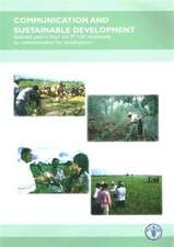 Communication and sustainable development