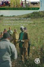Conservation Agriculture and Sustainable Crop Intensification in Karatu District, Tanzania