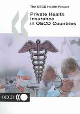 The OECD Health Project: Private Health Insurance in OECD Countries