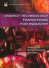 Energy Technology Transitions for Industry:  Strategies for the Next Industrial Revolution
