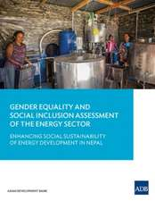Gender Equality and Social Inclusion Assessment of the Energy Sector