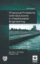 Practical Problem with Solution in Waste Water Engineering Vol. 5