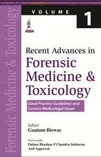 Recent Advances in Forensic Medicine and Toxicology Volume 1