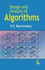 Muniswamy, V:  Design and Analysis of Algorithms