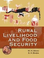 Rural Livelihood and Food Security