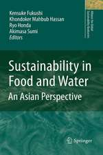 Sustainability in Food and Water: An Asian Perspective