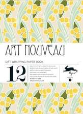 Art Nouveau Gift Wrapping Paper Book, Volume 1:  A Myth Revisited