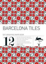 Barcelona:  Gift Wrapping Paper Book Vol. 36