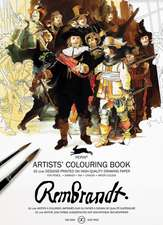Rembrandt Paintings:  Artistscolouring Book