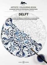 Colouring Book Delft Blue