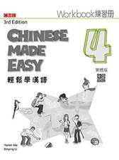 Chinese Made Easy 4 - workbook. Traditional character version