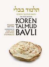 Koren Talmud Bavli Noe Color Edition, Vol. 6:  Pesahim, Part 1