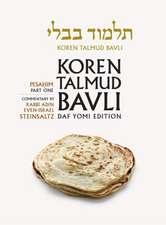 Koren Talmud Bavli Daf Yomi (B&w) Edition, Vol. 6:  Pesahim, Part 1