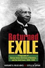 Rouse-Jones, M:  Returned Exile