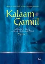 Kalaam Gamiil: an Intensive Course in Egyptian Colloquial Arabic: Volume 2