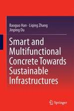 Smart and Multifunctional Concrete Towards Sustainable Infrastructures