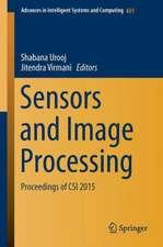 Sensors and Image Processing: Proceedings of CSI 2015