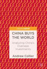 China Buys the World: Analyzing China's Overseas Investments