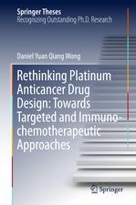 Rethinking Platinum Anticancer Drug Design: Towards Targeted and Immuno-chemotherapeutic Approaches