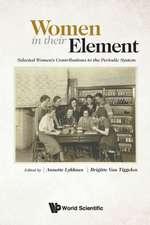 Women in Their Element