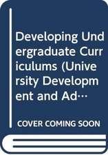 Developing Undergraduate Curriculums