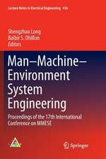 Man–Machine–Environment System Engineering: Proceedings of the 17th International Conference on MMESE