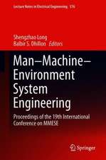 Man–Machine–Environment System Engineering