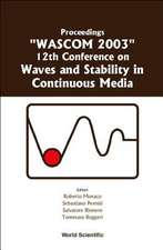 Waves and Stability in Continuous Media - Proceedings of the 12th Conference on Wascom 2003
