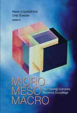 Micro Meso Macro:  Addressing Complex Systems Couplings