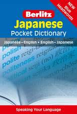 Berlitz: Japanese Pocket Dictionary