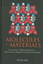 Molecules Into Materials:  Case Studies in Materials Chemistry--Mixed Valency, Magnetism and Superconductivity