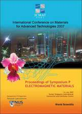 Electromagnetic Materials:  SUNTEC, Singa