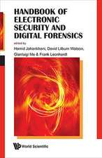 Handbook of Electronic Security and Digital Forensics