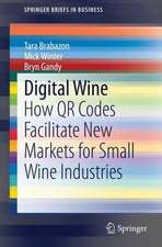 Digital Wine: How QR Codes Facilitate New Markets for Small Wine Industries