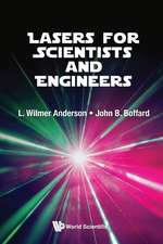 Lasers for Scientists and Engineers