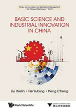 Basic Science And Industrial Innovation In China