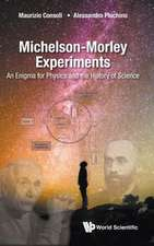 Michelson-Morley Experiments