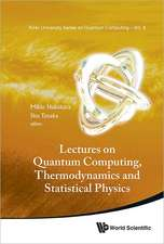 Lectures on Quantum Computing, Thermodynamics and Statistical Physics:  Theory and Use of Parameterized Adaptive Multidimensional Integration Routines