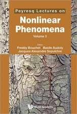 Peyresq Lectures on Nonlinear Phenomena, Volume 3