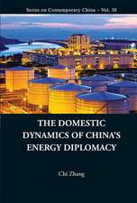 The Domestic Dynamics of China's Energy Diplomacy:  Some Statistics for Management Problems