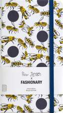 Fashionary: Peter Jensen X Fashionary Polka Bee Ruled Notebo