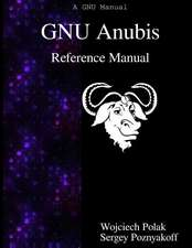 Gnu Anubis Reference Manual