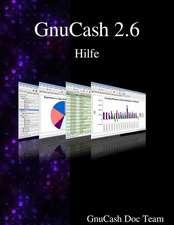 Gnucash 2.6 Hilfe