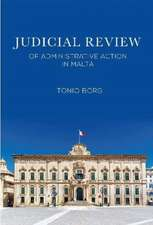 Judicial Review of Administrative Action in Malta